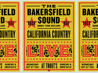 Bakersfield Sound Poster