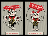 Promoting Yourself Lucky Cat