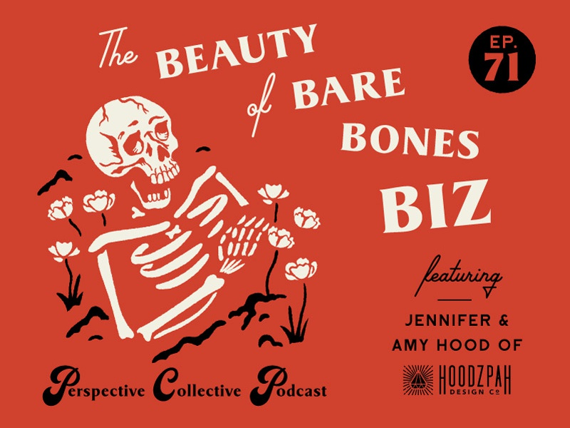 Hoodzpah on the Perspective Collective Podcast! podcast retro dead buried hoodzpah skull skeleton