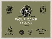 Wolfcamp Studios Logo System