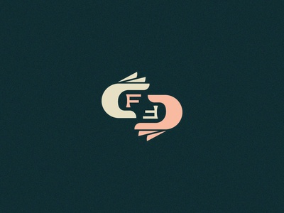 FF Unused Icon hoodzpah monogram simple icon fingers hand