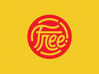 """Free"" lettering seal"
