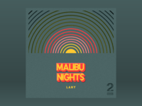 10x18: #2 LANY - Malibu Nights