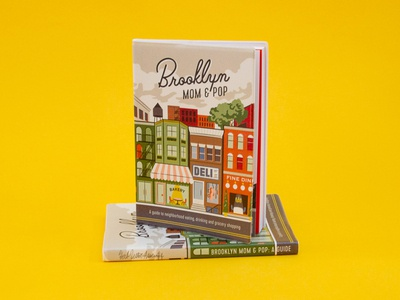 """Brooklyn Mom & Pop: A Guide"" Cover Design"