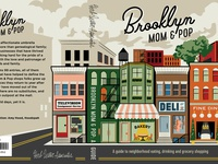 """Brooklyn Mom & Pop"" Cover Art Detail"