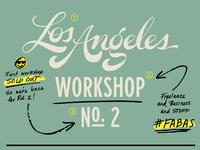 FABAS LA workshop #2!