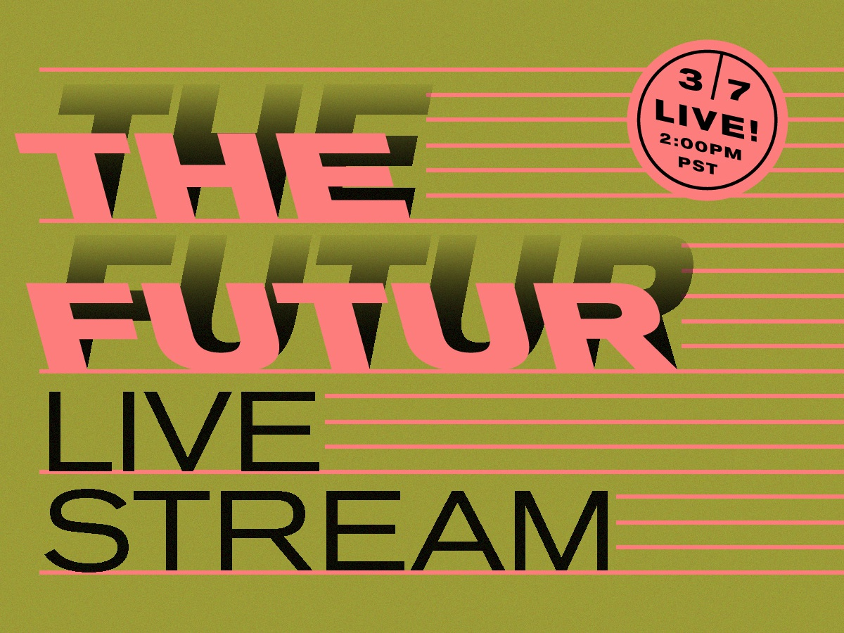 Hoodzpah on The Futur Live Stream w/Chris Do neon shadow event promo live stream hoodzpah futur