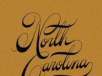 North carolina text 4 texture