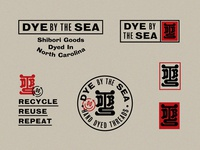 Dye by the Sea Unchosen logos