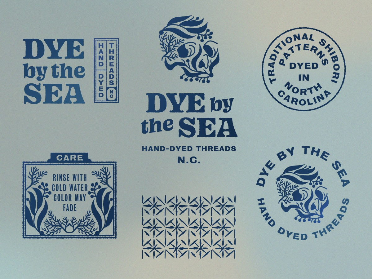 Dye By The Sea Final Logos