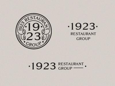 Unchosen 1923 logo system