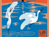 LA River Birds, detail