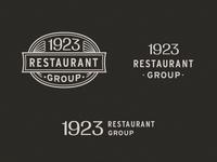 Unused 1923 Restaurant Group Logo System