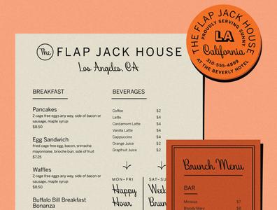 Beverly Drive Font Specimen - Menu hoodzpah cursive coaster letterhead menu lettering midcentury modern vintage retro script font