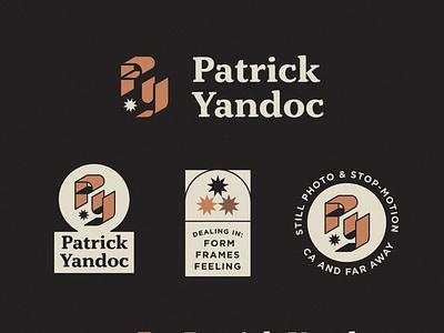 Patrick Yandoc: Unchosen Logo Concept 1 hoodzpah monogram 3d stars badge seal identity system logo