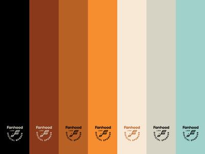 Fanhood color palette