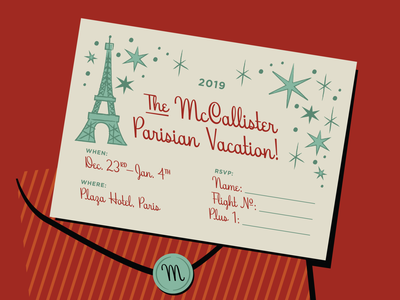 Home Alone Holiday Vacation Invite invite hoodzpah home alone winter font script paris card invitation christmas holiday