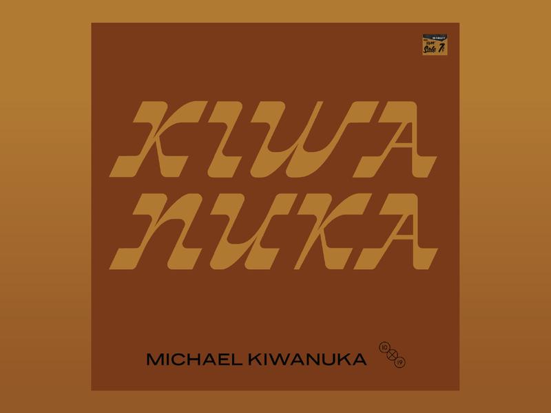 10x19 #7: Michael Kiwanuka, and #6. Susto album art cover typography seal