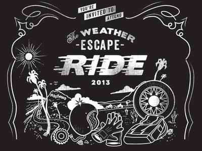 The Weather Escape Ride graphic
