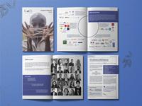 Editorial design for a financial company's annual report - KOIS magazine design report editorial magazine graphic design design