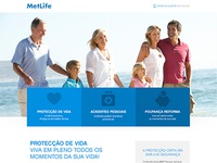 MetLife landing page