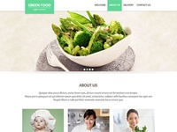 Green Food website