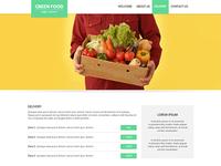 Green Food website