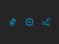 Chroma website icons