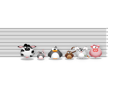 The Usual Suspects captured prisoners prison pig rabbit monkey penguin mouse rat cow animals the usual suspects