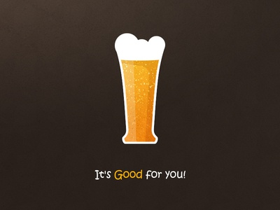 Beer Icon icon beer good ale yellow orange brown