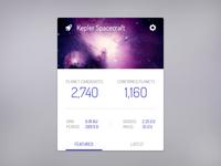 Kepler Planets Widget
