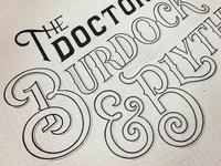Burdock & Blythe Sketch