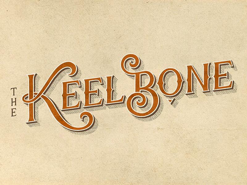The Keelbone [1/2] logo hand-drawn vintage