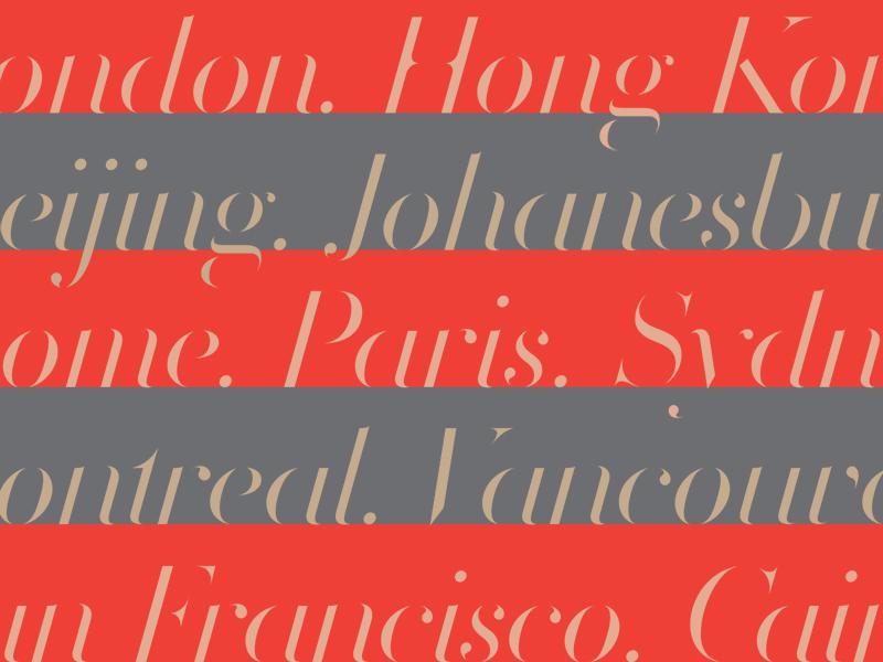 Volterra Italic — Cities font typeface italic volterra