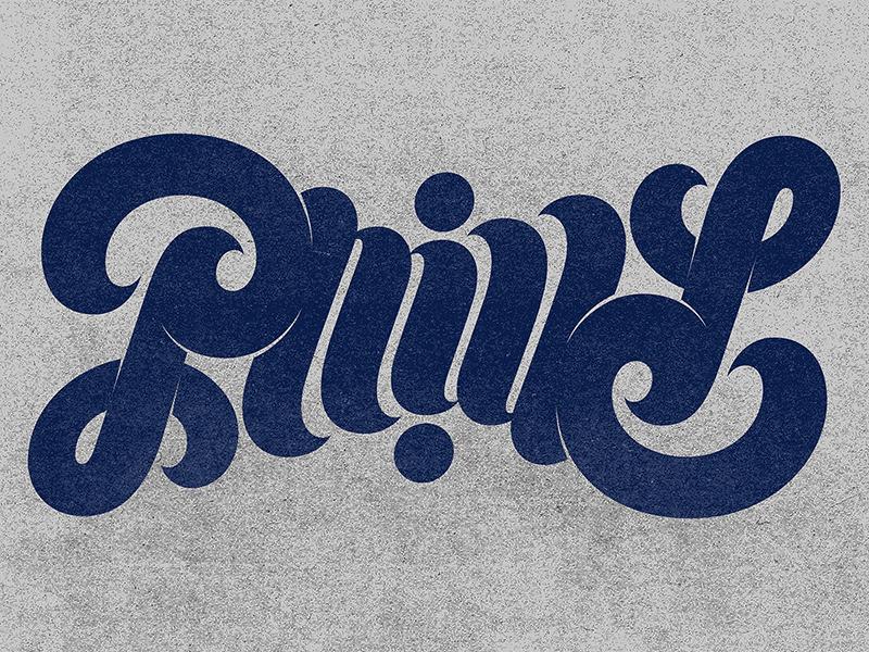 Philly Ambigram ambigram philadelphia philly