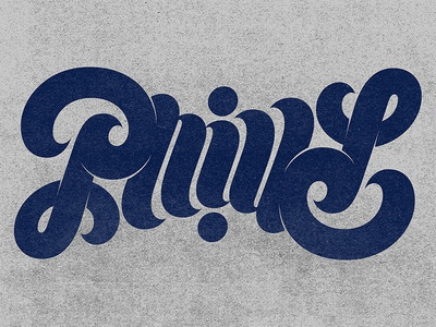 Philly Ambigram ambigram philadelphia philly