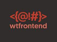 WTFrontend - Frontend Tutorials