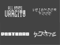 Hands of Skill fonts