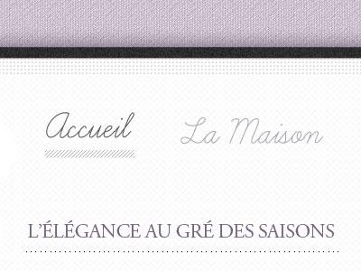 Site Boutique Mode fashion texture script purple clothes white