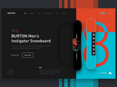 Burton Shop Concept