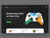 Xbox Website Concept v.2