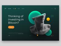 Bitcoin site concept