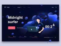 Midnight Surfer Concept