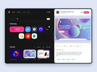 Dribbble Redesign Experiment