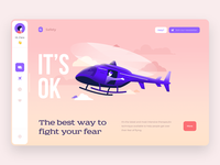 App concept mobile ui mobile plane ios application app ui design ux design helicopter ipad illustration ui ux flight interaction design tablet design