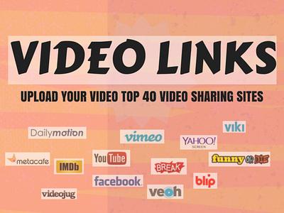 Harmen Mander | Market Your Website on the Video Sharing Sites logo illustration design harmen mander