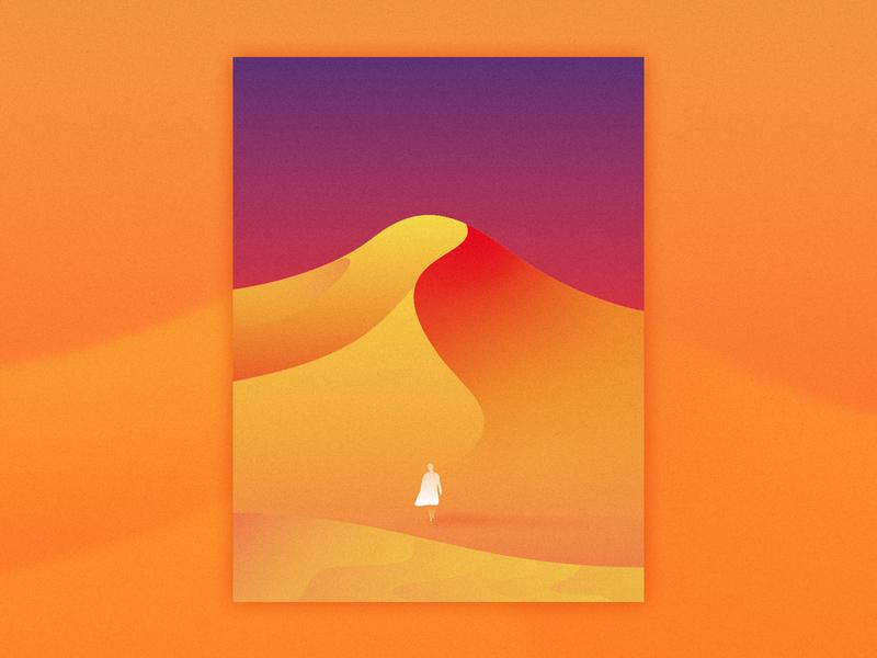 Not to move or retreat design illustration app ui