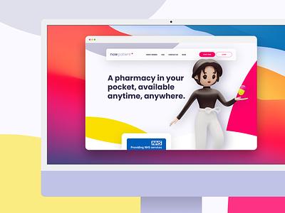 Now Patient / Healthcare illustration design mobile app ux ui healthcare product design