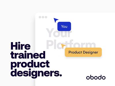 Product Designers 3x faster / Design for high growth Start-ups mobile app design illustration product design