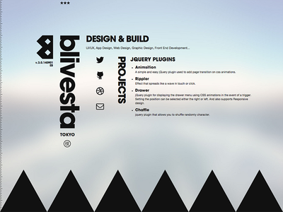 blivesta? web design typography